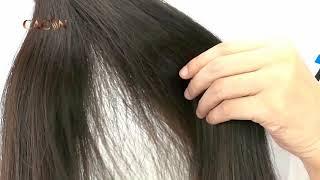 CACIN top quality raw virgin straight hair, Brazilian hair, 100 cuticle aligned hair
