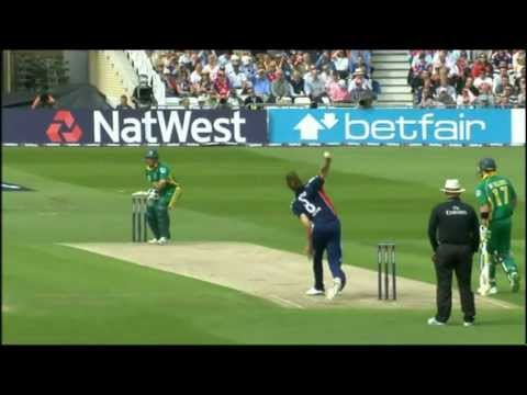 Stuart Broad 5 for 23 v South Africa, 2nd ODI, 2008, Nottingham