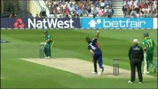 Stuart Broad 5 for 23 v South Africa, 2nd ODI, 2008, Nottingham