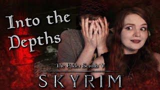 INTO THE DEPTHS! | TES V: Skyrim Horror Quest Mod!