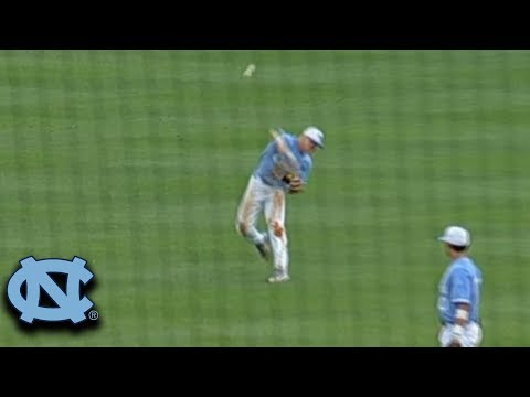 UNC's Ike Freeman Makes Ridiculous Throw for a Play at the Plate