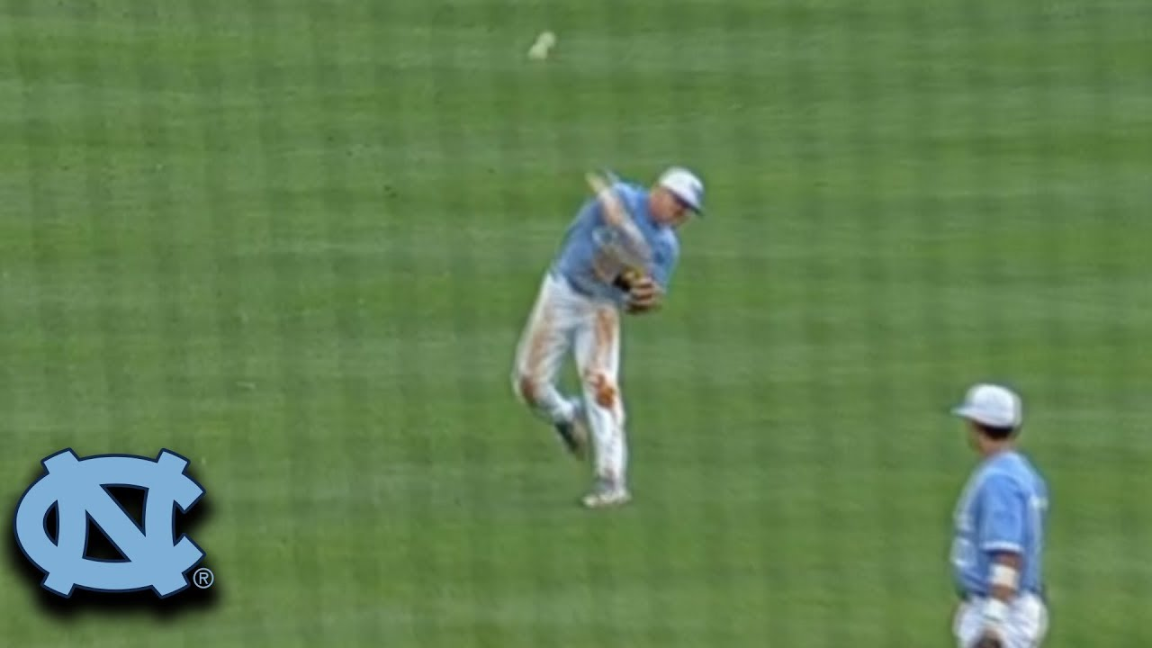 unc-s-ike-freeman-makes-ridiculous-throw-for-a-play-at-the-plate