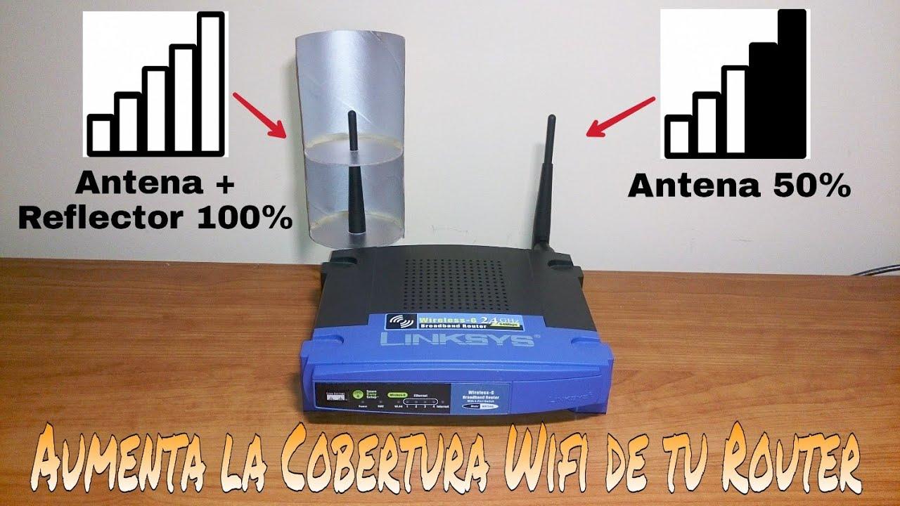 C mo aumentar la cobertura y la se al wifi de tu router f cilmente youtube - Ampliar cobertura wifi en casa ...