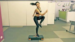 Cтеп-аэробика для похудения в домашних условиях 🙋 Step Aerobics