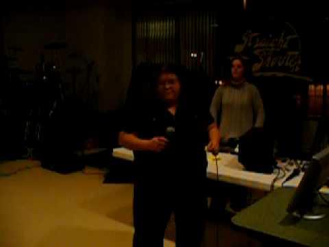 Karaoke at the Fraternal Order of Eagles #3702