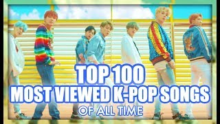 [top 100] Most Viewed K Pop Songs Of All Time • January 2019