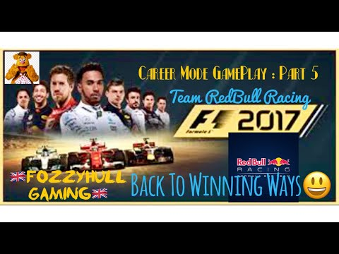 F1 2017 : Career Mode - Part 5 - Spain 🇪🇸 : Finally A Win After 2 Weekend Losses! Engine Failure!