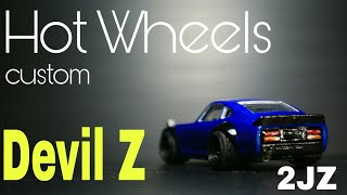 Hot Wheels Devil Z with 2JZ inside
