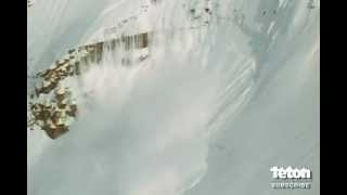 Skier Survives Massive Avalanche
