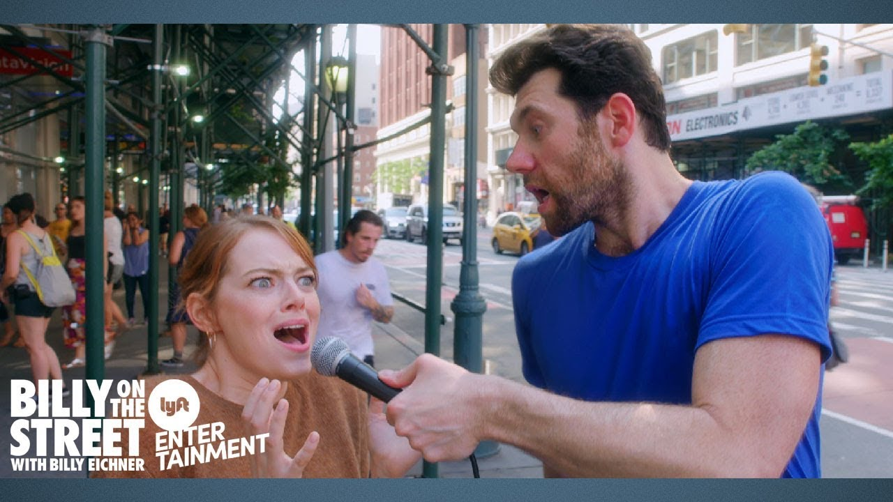 Download BILLY ON THE STREET with EMMA STONE!!!