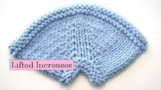 Knitting Help - Lifted Increases