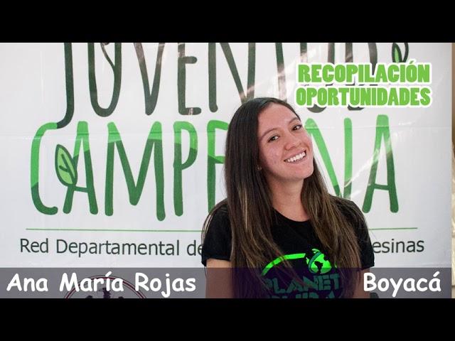 #JóvenesQueTransforman LISANDRO HERNANDEZ. Boletín de Oportunidades para Jóvenes Rurales. Andina