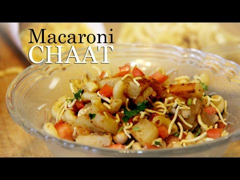 Macaroni Chaat Recipe | Indian Style Macaroni Pasta Recipe | Veg appetizer Recipes Indian By Shilpi