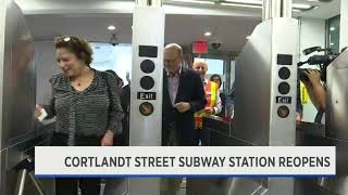 12P Amy Mn Cortlandt St Station Reopening