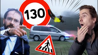 WE SMASH A JAYWALKER AT 80 MPH !!! Vilebrequin