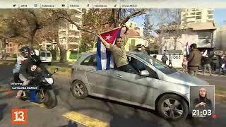 Protesta frente a Consulado de Cuba termina en disturbios