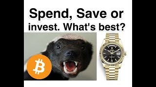 Rolex or Bitcoin - Spend, Save or Invest?