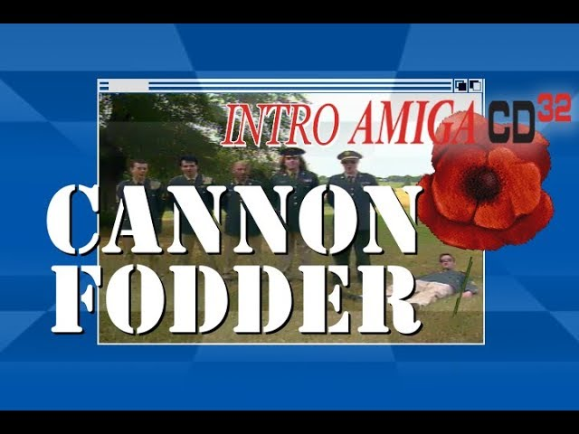 Cannon Fodder | AMIGA CD32 intro