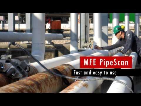 MFL Pipe Scanner - MFE Enterprises PipeScan
