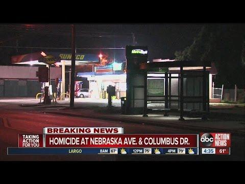 Homicide at Nebraska Ave. and Columbus Dr.
