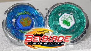 BATTLE: Storm Pegasus 105RF VS Rock Leone 145WB - Beyblade LEGENDS