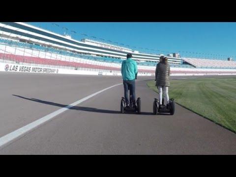 Nelson Piquet swaps NASCAR for Segways