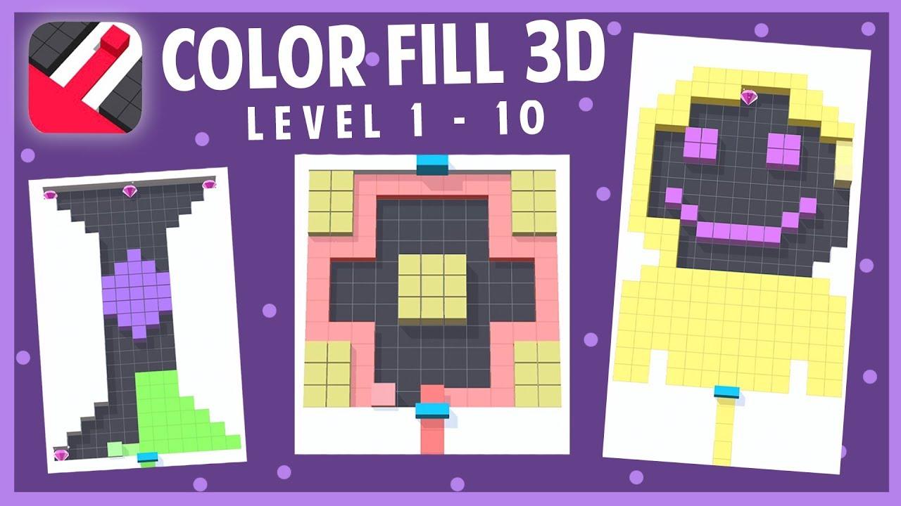 لعبة Color Fill 3D