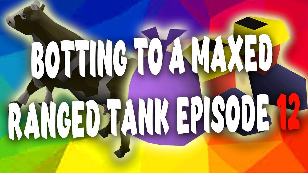 [OSRS] Miranda - Botting to a Maxed Ranged tank Episode 12