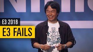 E3 FAILS Compilation - Die 10 größten Fails der vergangenen Jahre