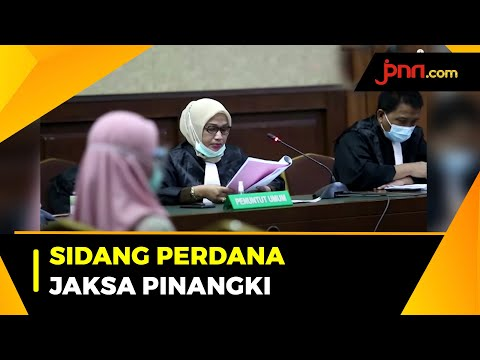 Terdakwa Jaksa Pinangki Jalani Sidang Perdana Kasus Djoko Tjandra