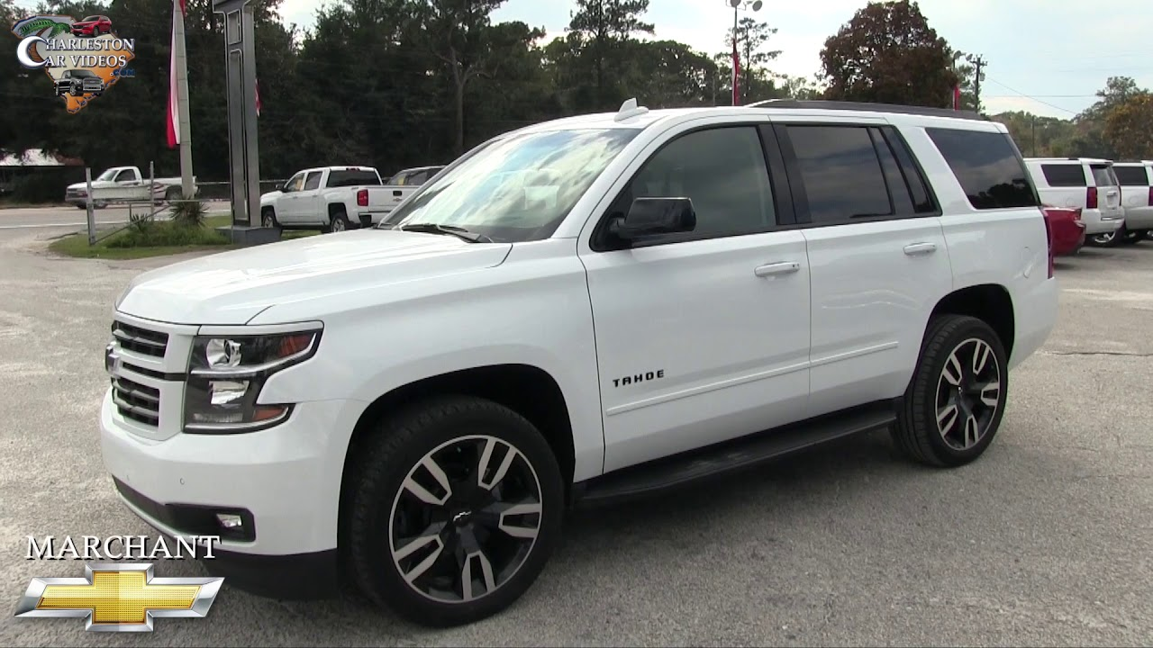NEW 2018 CHEVY TAHOE Premier RST | REVIEW & FOR SALE @ Marchant Chevy - NOV 2017 - YouTube