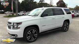 ⚫ NEW 2018 CHEVY TAHOE Premier RST | REVIEW & FOR SALE @ Marchant Chevy - NOV 2017