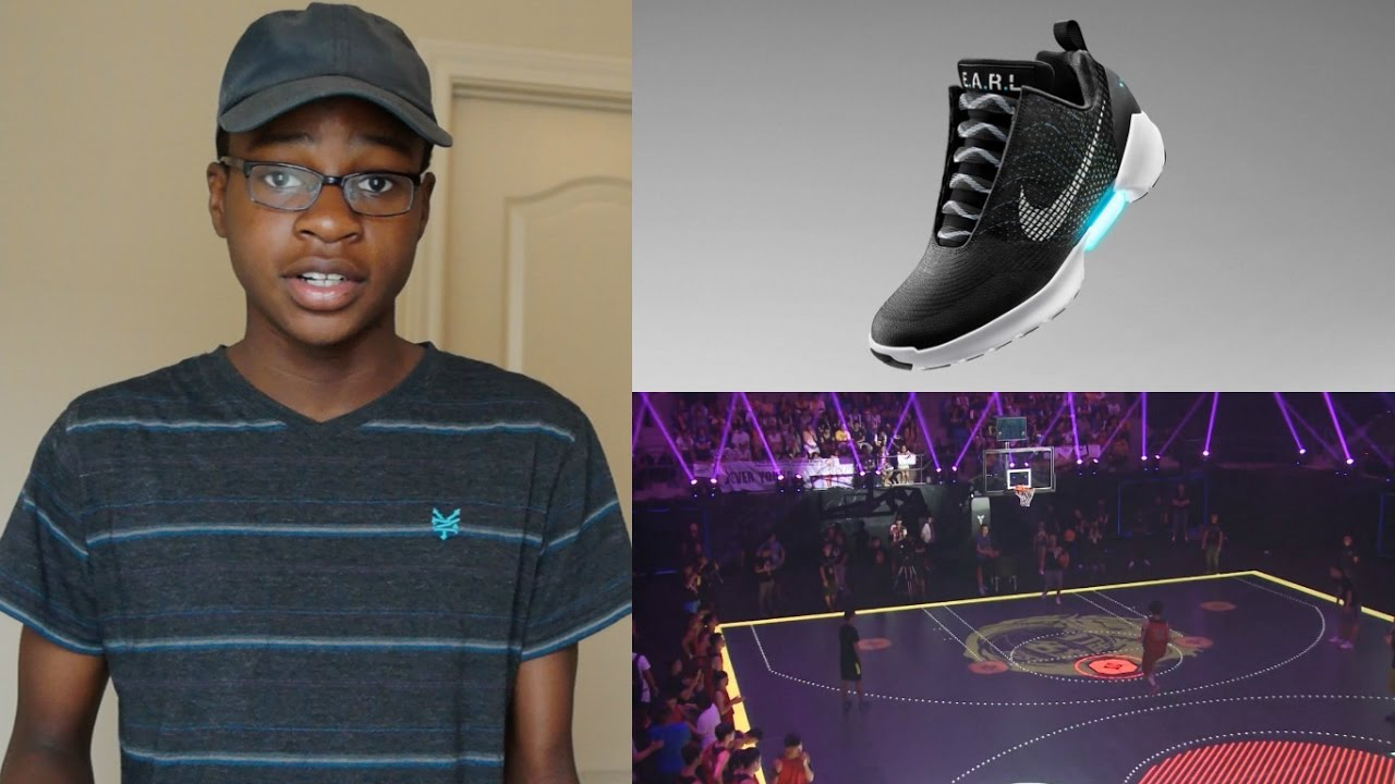 Nike HyperAdapt 1.0, and the First LCD Basketball Court? | Tech (IN) Sports