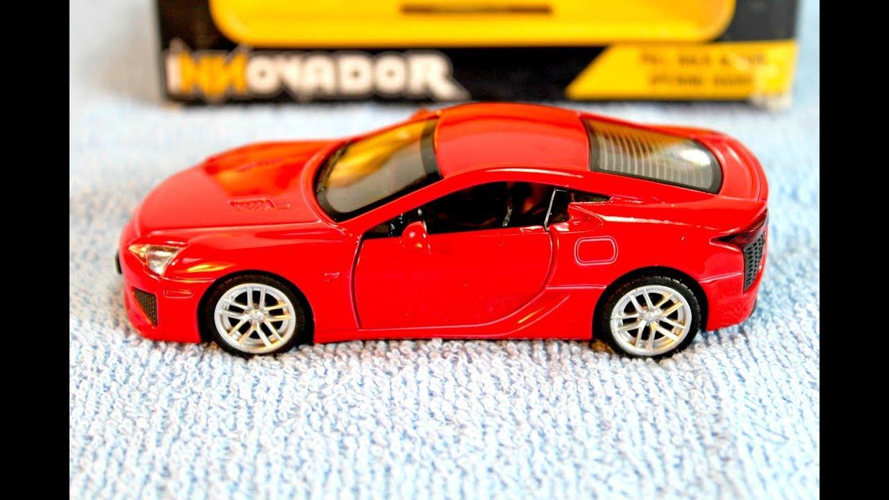 Innovador Lexus LFA Die Cast Car