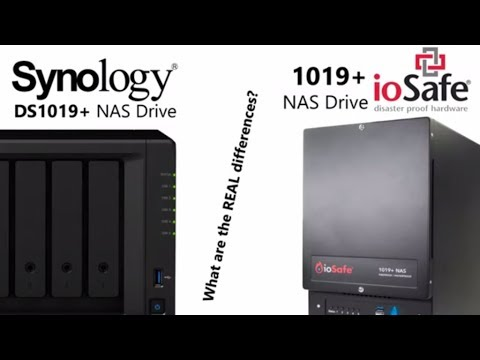 Comparing the ioSafe 1019+ VS the Synology DS1019+ NAS
