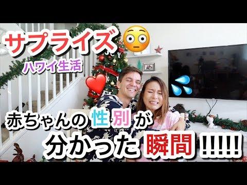 【サプライズ】赤ちゃんの性別がわかった瞬間 !!!!!!!!!!【Baby Gender Reavel Reaction】ハワイ生活 |海外 子育てママ|海外出産 妊娠 妊婦