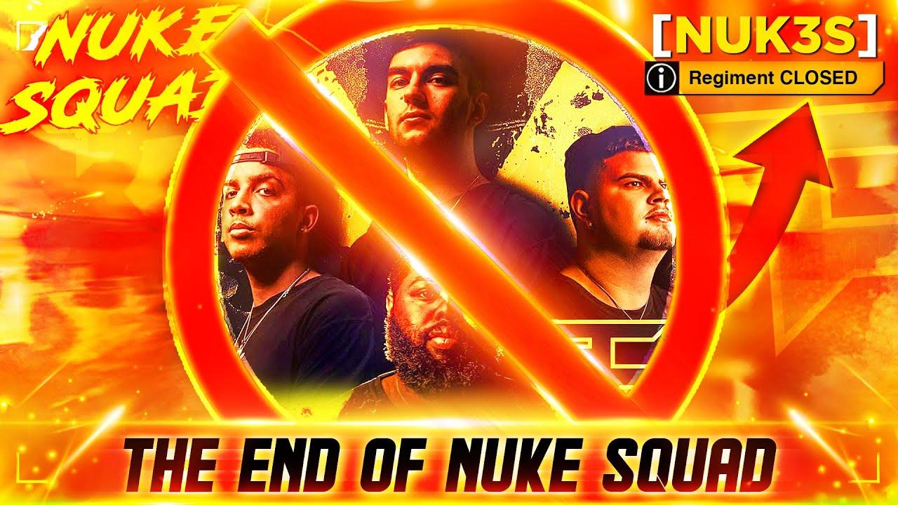 Goodbye Nuke Squad...