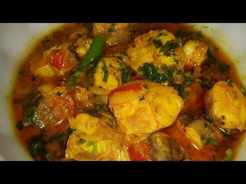 French Merlus ( Colin or Hake ) fish recipe ( কলিন বা হেইক মাছের রেসিপি ) in bengali style