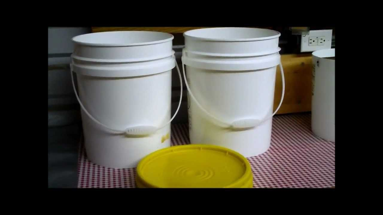 Food Storage Corn Whole Kernel In 5 Gallon Plastic Buckets With Diatomaceous Earth You