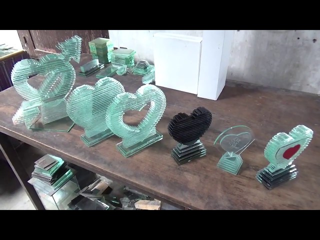 Souvenir unik bentuk love - cara pembuatan