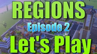 SimCity Buildit | REGIONS: Let