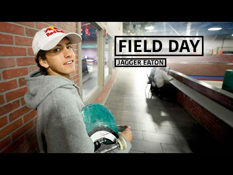 A Day in the Life of Skateboarder Jagger Eaton | FIELD DAY