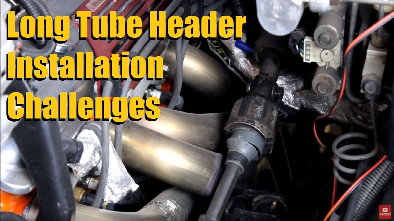 small resolution of long tube header installation challenges anthonyj350