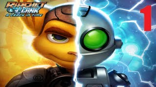 Ratchet and Clank Future: A Crack in Time (Part 1) (Gameplay/Commentary)