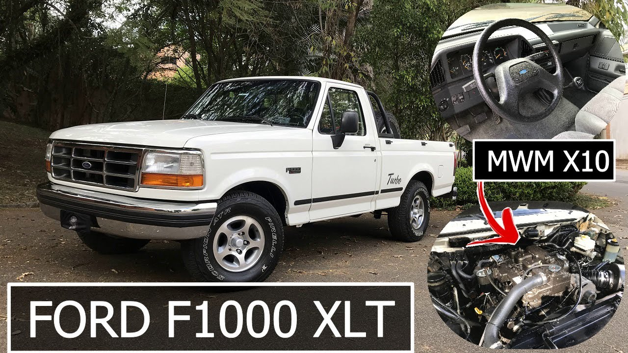 FORD F1000 XLT 1998 (MOTOR MWM X10) | GARAGEM DO BELLOTE TV