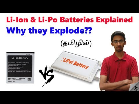 Li Ion Vs Li Po Battery Explained and Why Smartphone batteries explode? | in Tamil | Tech Satire