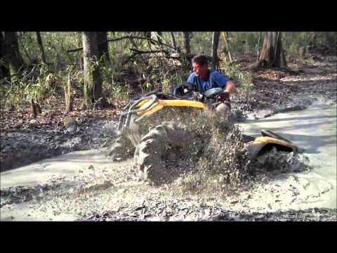 Quads and Argos in action at Creek Bottom ATV Park Doles Georgia