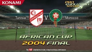 PES 3 | African Cup 2004 Final [Tunisia vs Morocco]