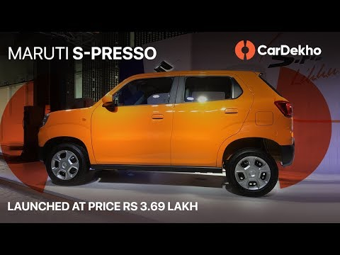 Maruti S-Presso Detailed Walkaround In Hindi | Launch Price 3.69 Lakh | CarDekho