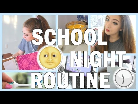 Back To School Night Routine 2016-2017 | My REAL Night Routine For School 2016!